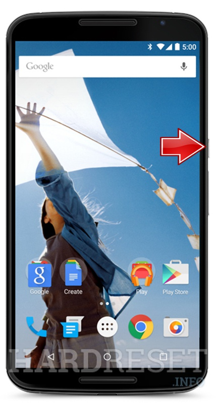 Factory Reset MOTOROLA XT1100 Nexus 6 International