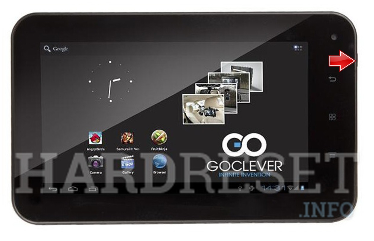 Hard Reset GOCLEVER Tab 7500