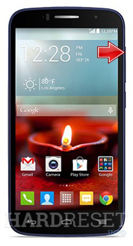 Master Reset ALCATEL OneTouch Fierce 2