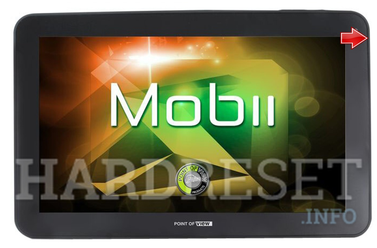 Factory Reset POINT OF VIEW Mobii 1015