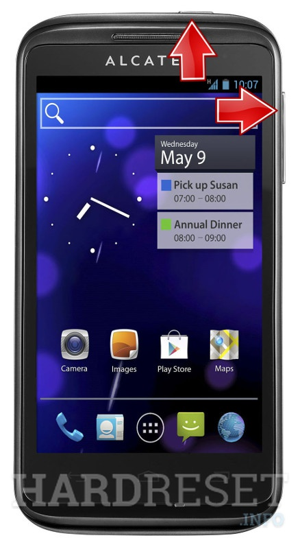 HardReset ALCATEL ONE TOUCH 993D