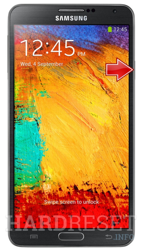 Hard Reset SAMSUNG N900W8 Galaxy Note 3