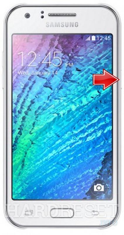 Hard Reset SAMSUNG J500F Galaxy J5
