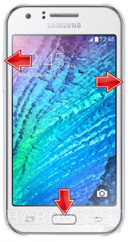 Hard Reset SAMSUNG J500F Galaxy J5 - HardReset info