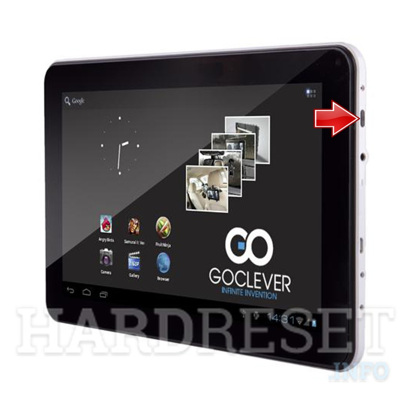 Hard Reset GOCLEVER Tab A93.2