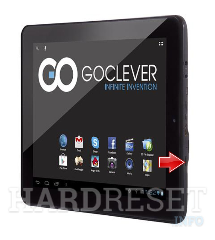 Hard Reset GOCLEVER Tab A971