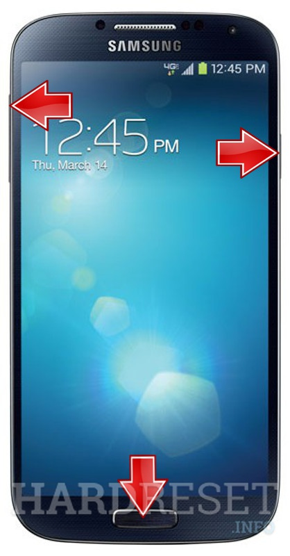 Remove screen password on SAMSUNG I545 Galaxy S4
