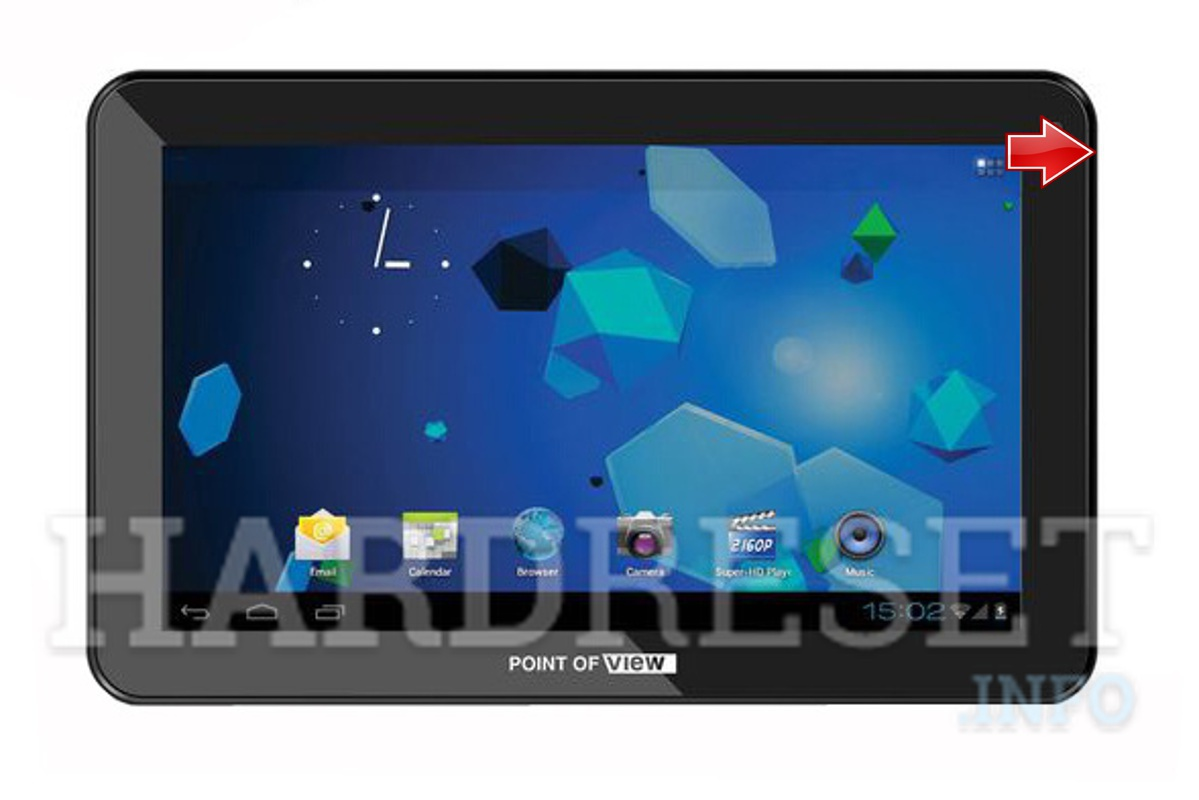 Hard Reset POINT OF VIEW ProTab 25XXL