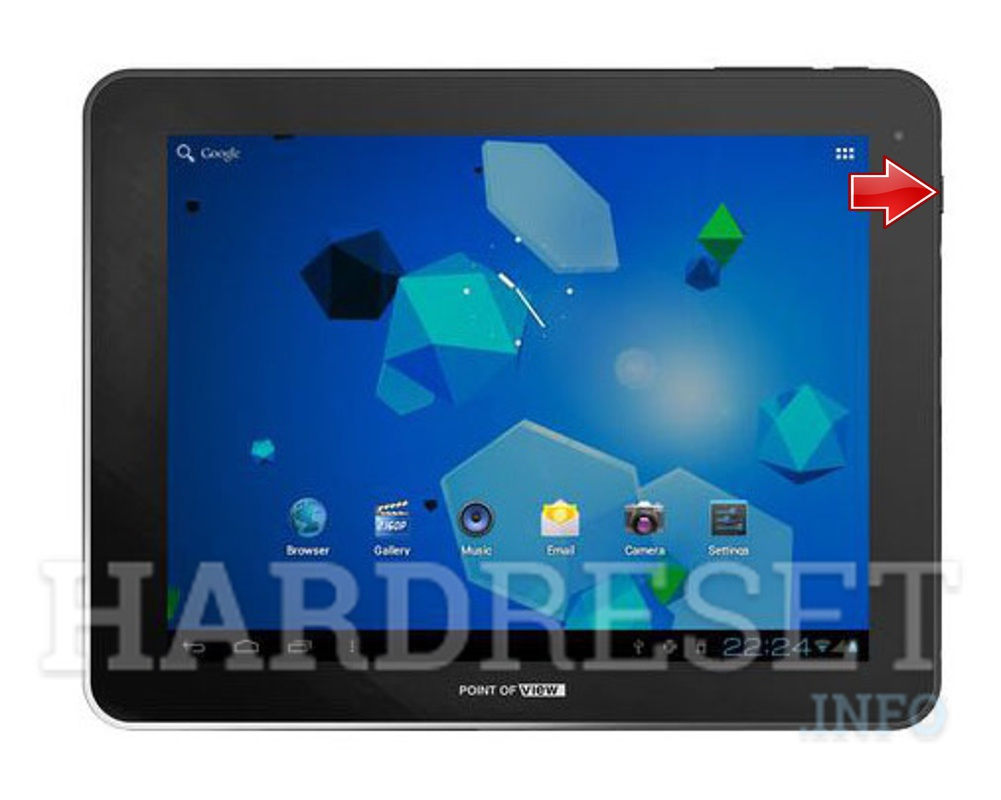 Hard Reset POINT OF VIEW ProTab 26XL