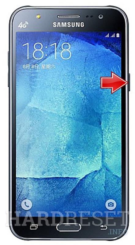 SAMSUNG J700F Galaxy J7 - How to Hard Reset my phone - HardReset.info