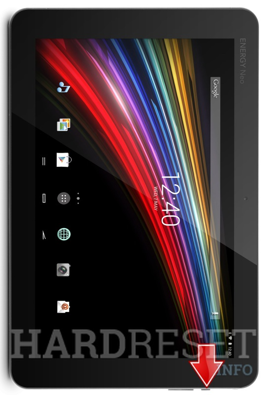 Hard Reset ENERGY SISTEM Tablet NEO 10