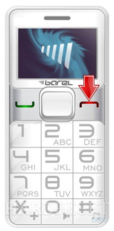 Hard Reset BAREL S120