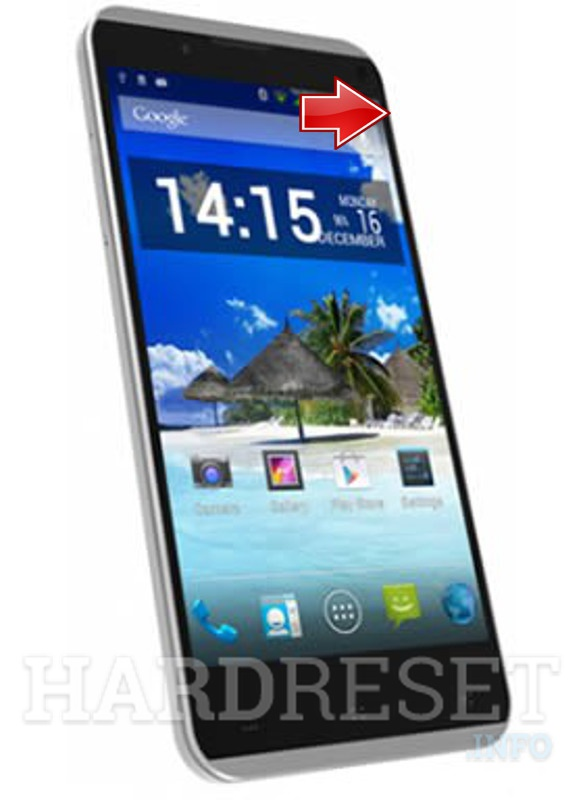 Hard Reset i-mobile IQ X Octo