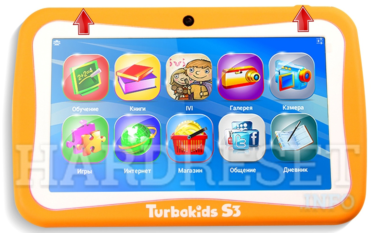 HardReset TURBO Kids S3