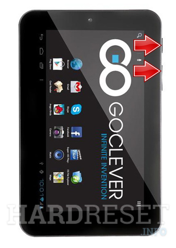 HardReset GOCLEVER Tab M703G