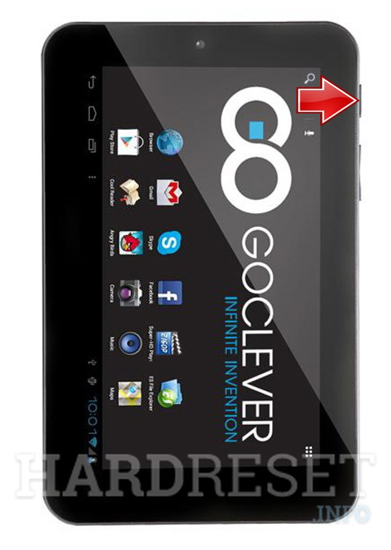 Hard Reset GOCLEVER Tab M713G