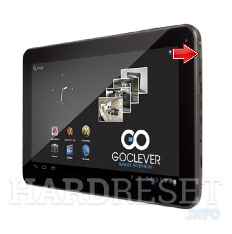 Hard Reset GOCLEVER Tab R104