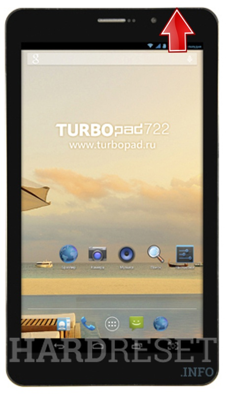 Hard Reset TURBO Pad 722