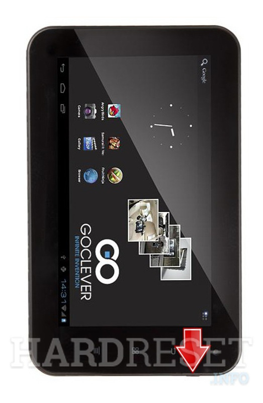 Hard Reset GOCLEVER Tab R75