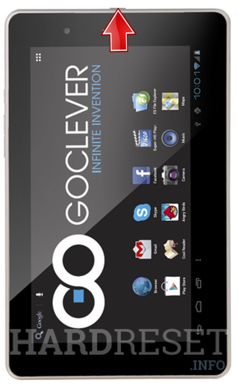 Hard Reset GOCLEVER Tab M723G