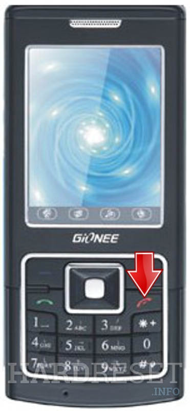 Hard Reset GIONEE D16