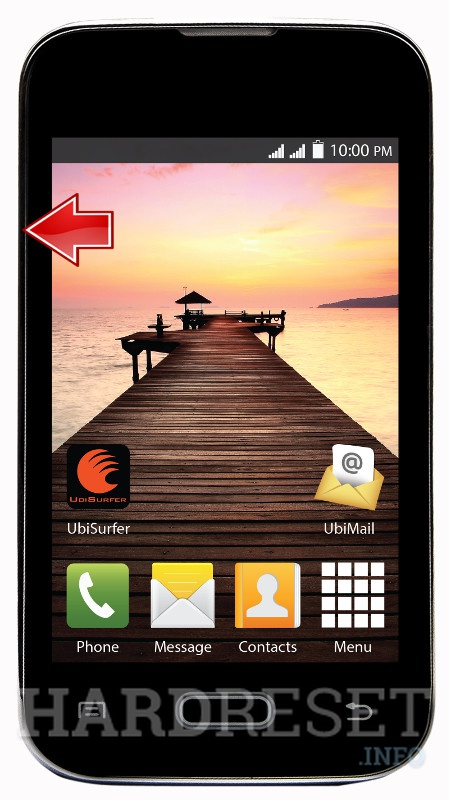 Remove screen password on DATAWIND PocketSurfer 2G4