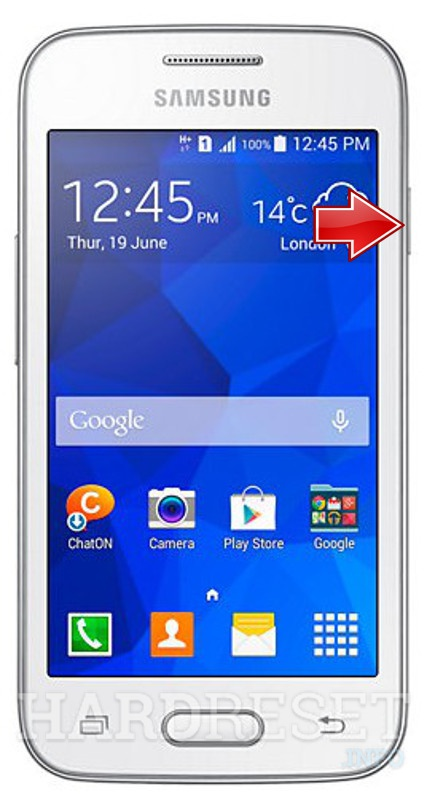 Hard Reset SAMSUNG G318 Galaxy V Plus