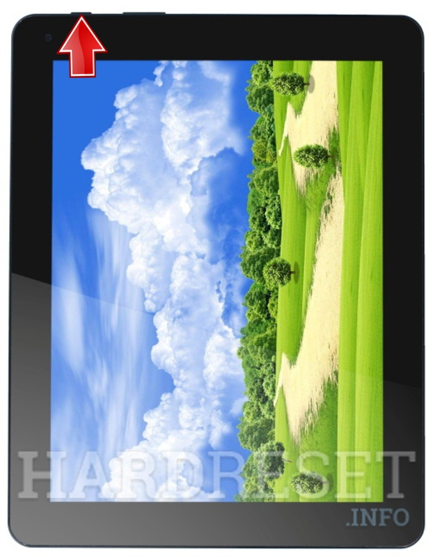 Hard Reset COLORFUL Colorfly CT974 Ivory3