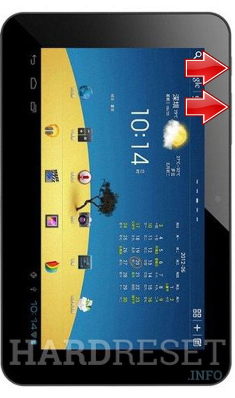 Remove screen password on VIDO N70 Dual Core 7.0