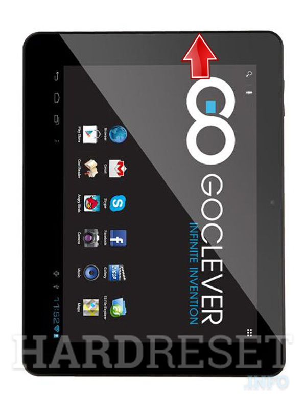 Hard Reset GOCLEVER Tab R974