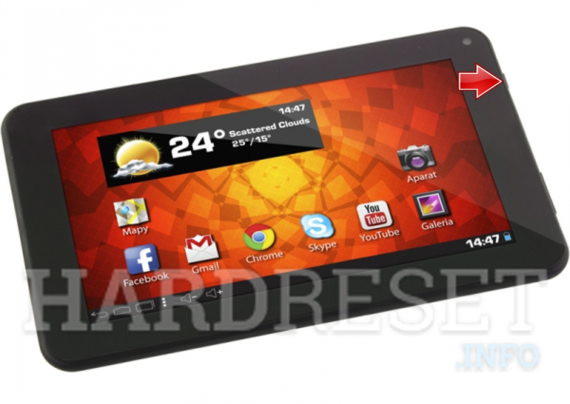 Hard Reset ESPERANZA ETB101 DREAM TAB 7