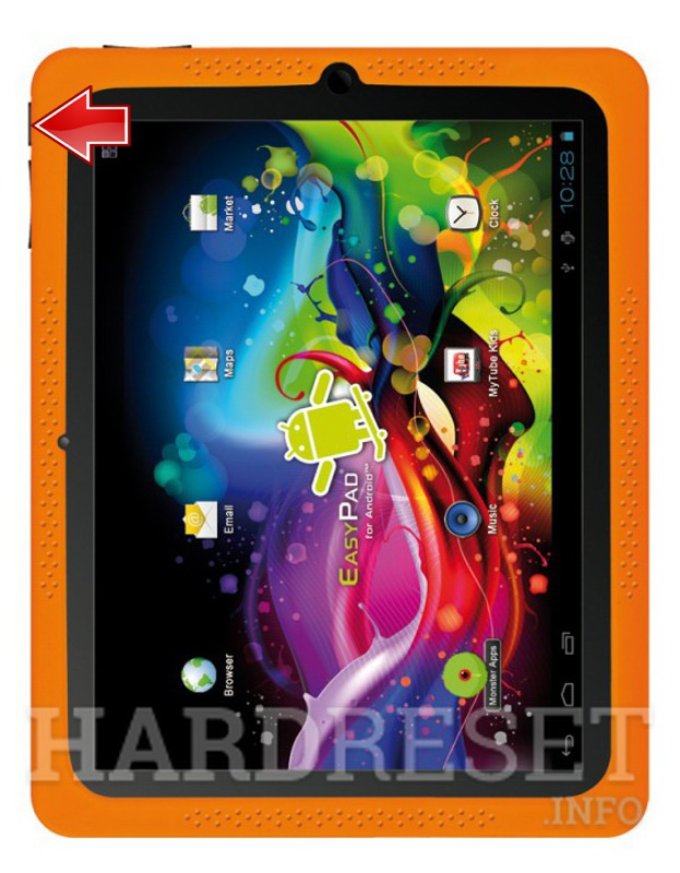 Hard Reset EASYPIX EasyPad Junior 4.0