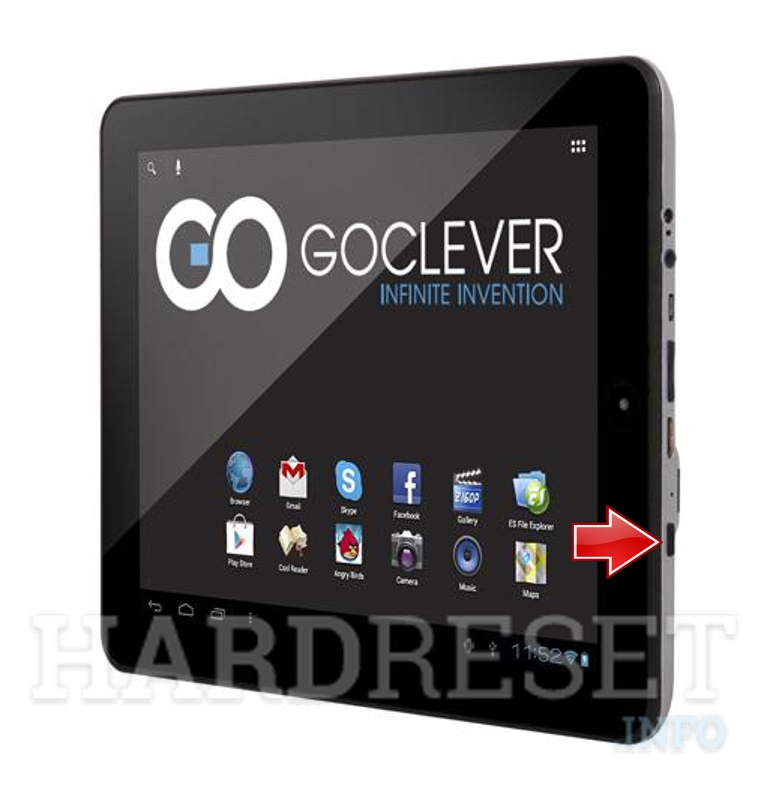 Hard Reset GOCLEVER Tab R973