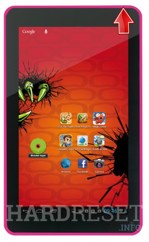 Hard Reset EASYPIX MonsterPad EP751 Witty Kitty