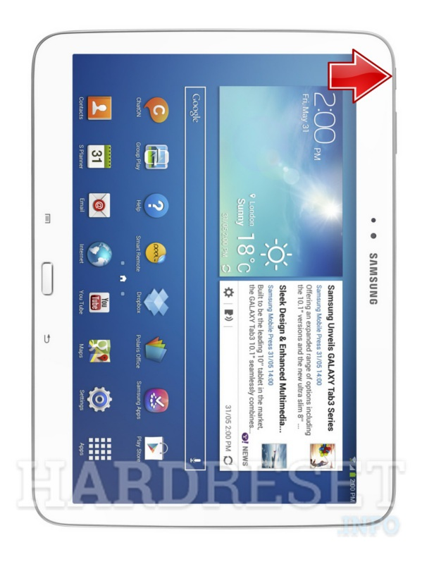 devices samsung p galaxy tab  wifi