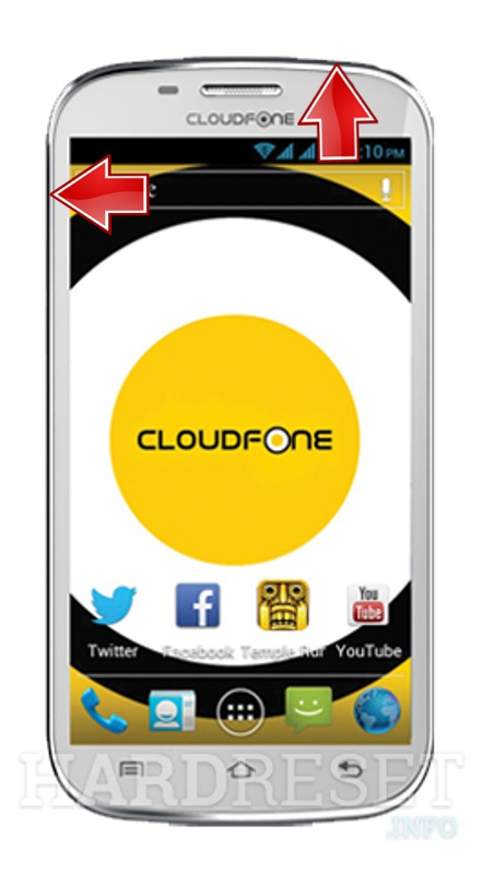 HardReset CLOUDFONE Excite 501D