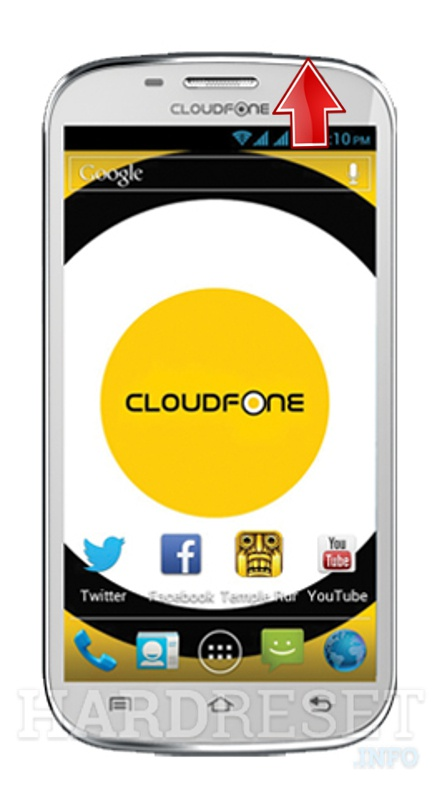 Hard Reset CLOUDFONE Excite 501D