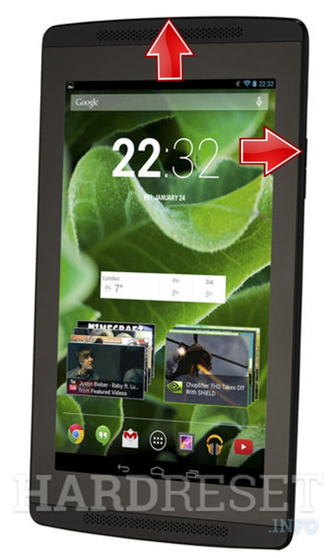 HardReset ADVENT Vega Tegra Note 7
