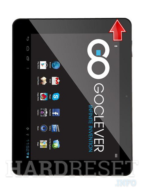 Hard Reset GOCLEVER Tab R974.2