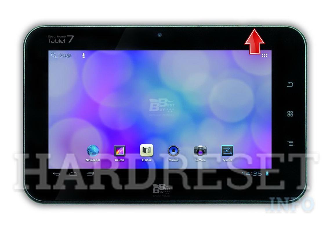 Hard Reset Best Buy Easy Home Tablet 7 How To Hardreset Info