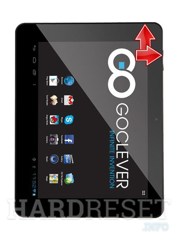 HardReset GOCLEVER Tab R974.2