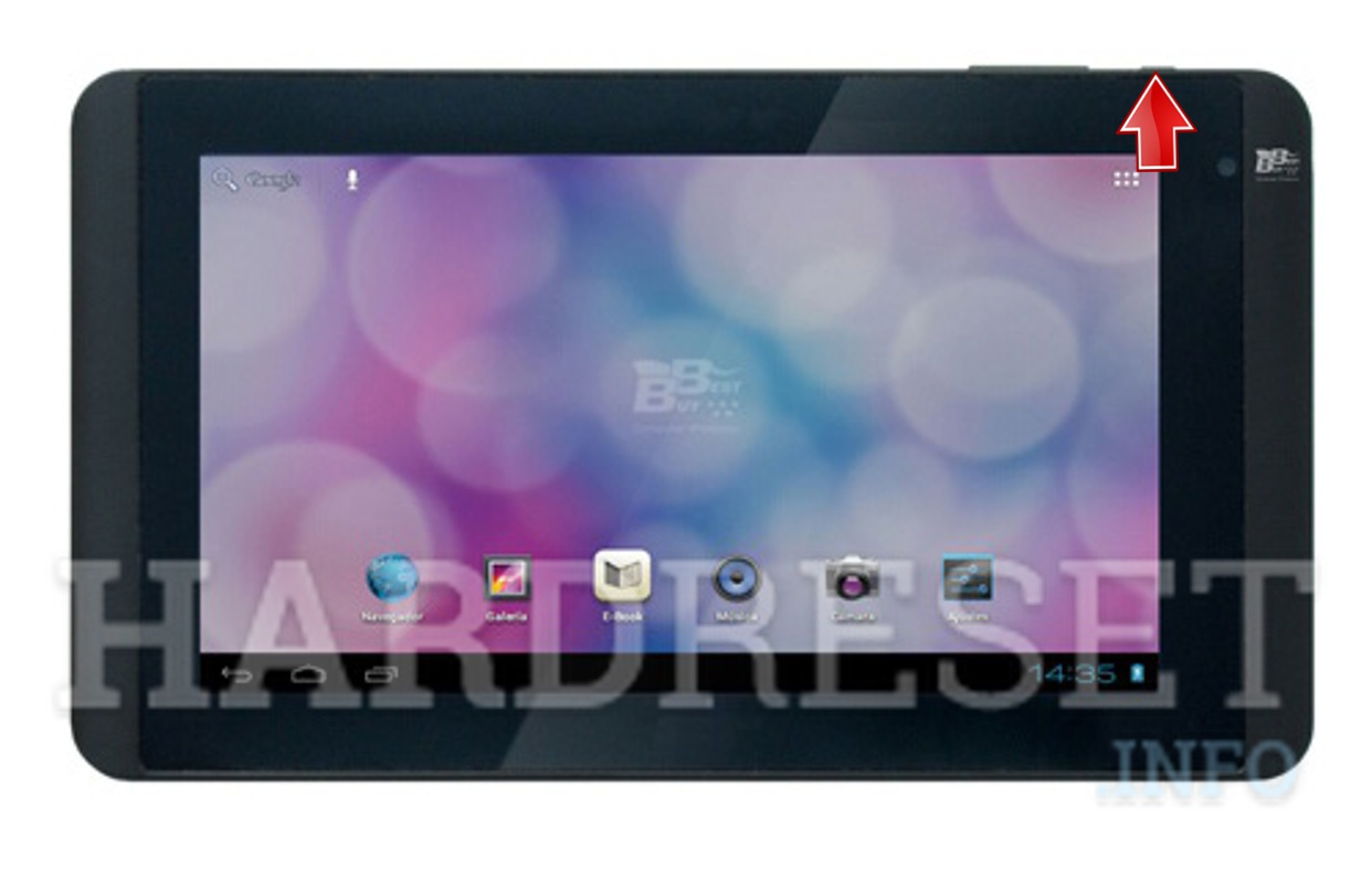 Hard Reset BEST BUY Easy Home Tablet 7 LE