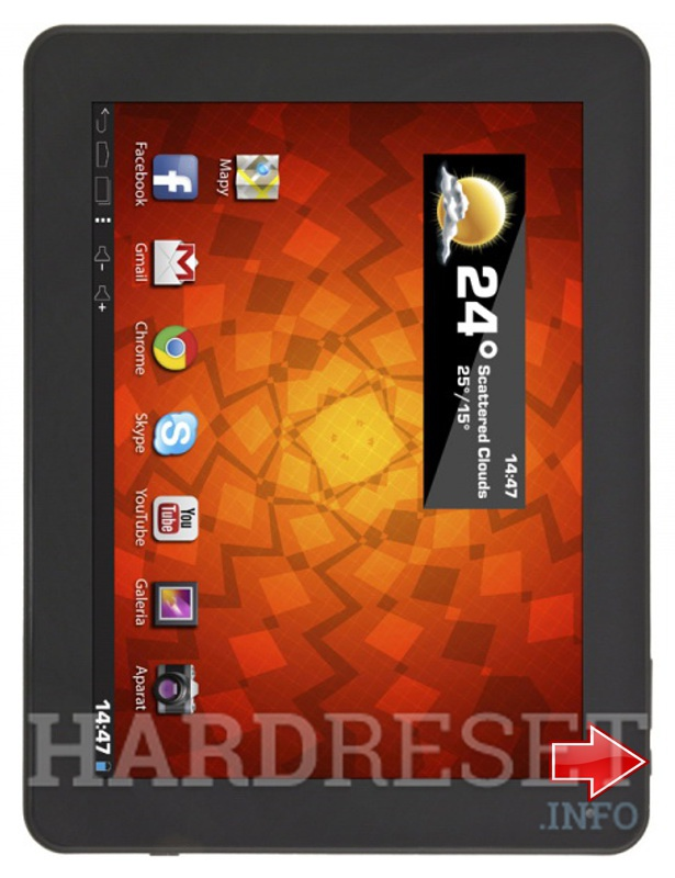 Hard Reset ESPERANZA ETB102 DREAM TAB 9.7