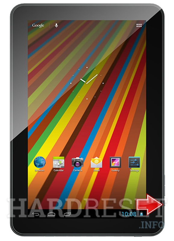 Remove screen password on GEMINI DEVICES GEM1000 D10