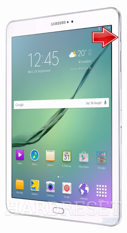 Factory Reset SAMSUNG T715 Galaxy Tab S2 8.0 LTE