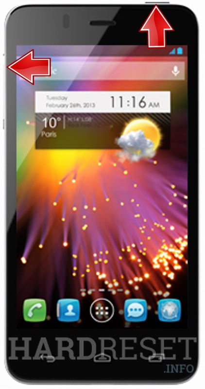 HardReset ALCATEL 6010X One Touch Star