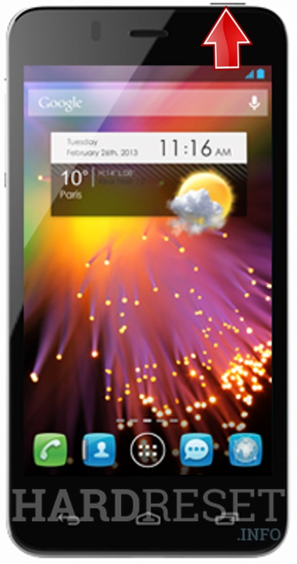 Hard Reset ALCATEL 6010X One Touch Star
