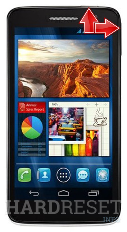 HardReset ALCATEL OT-8008D One Touch Scribe HD