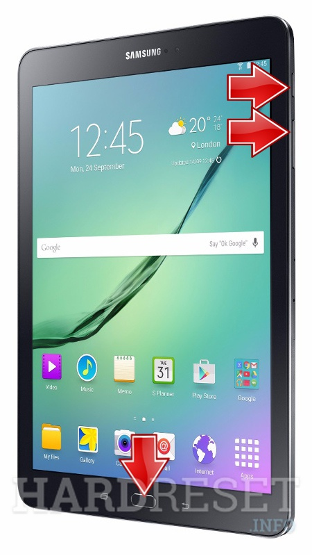 Permanently delete data from SAMSUNG T815 Galaxy Tab S2 9.7 LTE