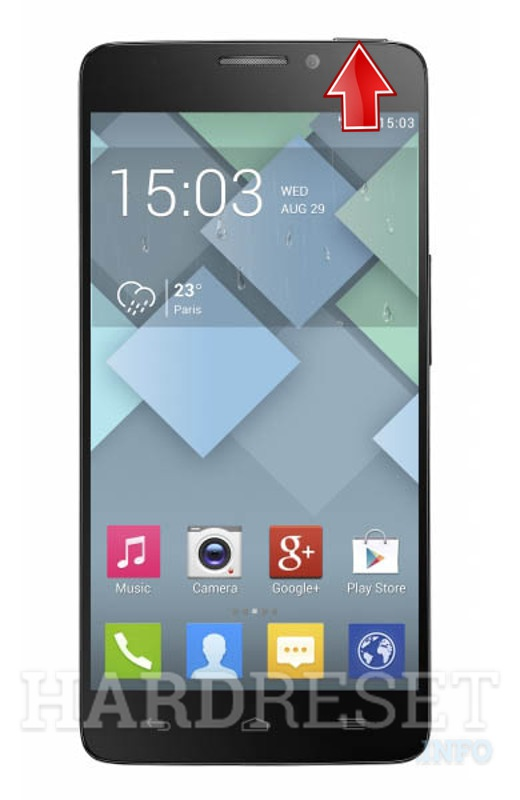 Hard Reset ALCATEL 6040D IDOL X Slate